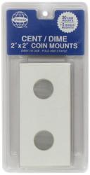 Whitman 2x2 Coin Mounts -- Retail Pack of 30 -- Cent/Dime Size