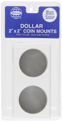 Whitman 2x2 Coin Mounts -- Retail Pack of 30 -- Large Dollar Size