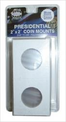 Whitman 2x2 Coin Mounts -- Retail Pack of 30 -- Small Dollar Size