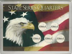 HE Harris State Quarters Frosty Case - Five Hole 5x7