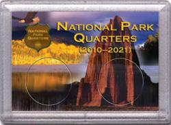 HE Harris National Park Quarters Frosty Case - Canyon/Desert Stone - 2-hole, 2x3