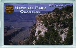 HE Harris National Park Quarters Frosty Case - Canyon - 6-hole, 3x5