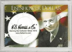 HE Harris Eisenhower Dollar Frosty Case, 2x3
