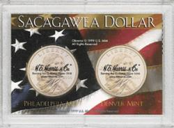 HE Harris Sacagawea P&D Frosty Case - Flag, 2x3