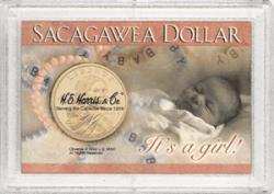 HE Harris Sacagawea Frosty Case - It's a Girl!, 2x3