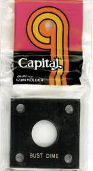 Capital Holder - Bust Dime, 2x2