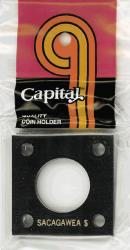 Capital Holder - Sacagawea Dollar, 2x2