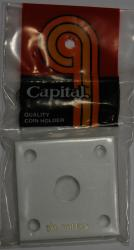 Capital Holder - Small Gold Dollar, 2x2