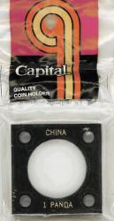 Capital Holder - 1 oz. Panda, 2x2