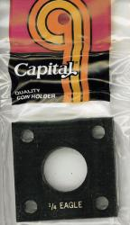 Capital Holder - 1/4 oz. Eagle, 2x2