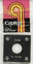 Capital Holder - 1/10 oz. Panda, 2x2
