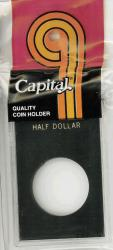 Capital Holder - Half Dollar, 2x3