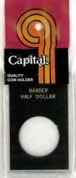 Capital Holder - Barber Half Dollar, 2x3