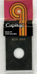 Capital Holder - $2.50 Gold, 2x3