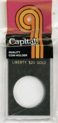 Capital Holder - Liberty $20 Gold, 2x3