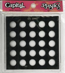 Capital Holder - U.S. Cents (25 Holes, No Dates)