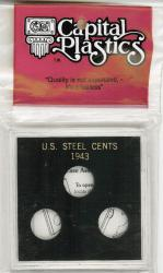 Capital Holder - Steel Cents of 1943