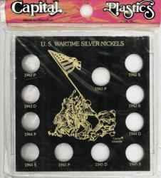 Capital Holder - Wartime Silver Nickels 1942-1945 (Galaxy)