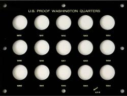 Capital Holder - Proof Washington Quarters 1950-1964