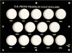 Capital Holder - Proof Franklin Half Dollars 1950-1963