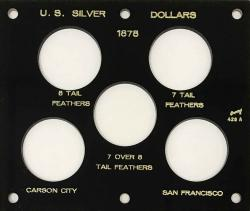 Capital Holder - Silver Dollars of 1878