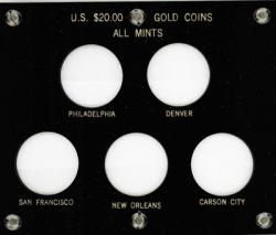 Capital Holder - $20.00 Gold Coins All Mints