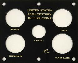 Capital Holder - U.S. 20th Century Dollar Coins