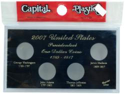 Capital Holder - Presidential Dollars 2007 Date Set