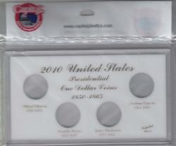 Capital Holder - Presidential Dollars 2010 Date Set