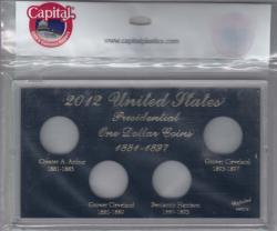 Capital Holder - Presidential Dollars 2012 Date Set