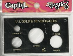 Capital Holder - Gold & Silver Eagles (5 Holes), Meteor