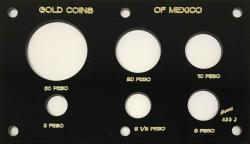 Capital Holder - Gold Coins of Mexico (50, 20, 10, 5, 2.5, 2 Peso)