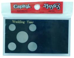 Capital Holder - Wedding Year (Cent through Half), Meteor