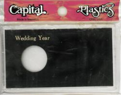 Capital Holder - Wedding Year (Silver Eagle), Meteor