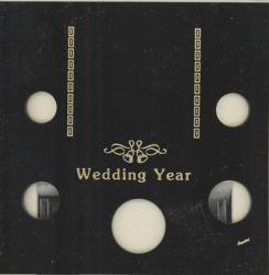 Capital Holder - Wedding Year (Cent through Half), Galaxy