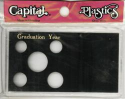 Capital Holder - Graduation Year (Cent through Half), Meteor
