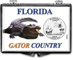 Edgar Marcus Snaplock Holder -- Florida -- Gator Country