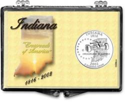 Edgar Marcus Snaplock Holder -- Indiana -- State Motto