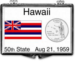 Edgar Marcus Snaplock Holder -- Hawaii State Flag