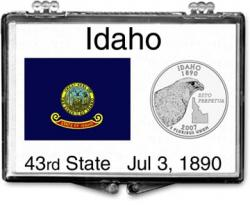 Edgar Marcus Snaplock Holder -- Idaho State Flag