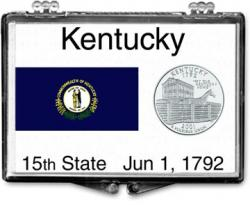 Edgar Marcus Snaplock Holder -- Kentucky State Flag