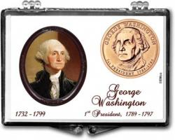 Edgar Marcus Snaplock Holder -- George Washington