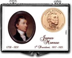 Edgar Marcus Snaplock Holder -- James Monroe