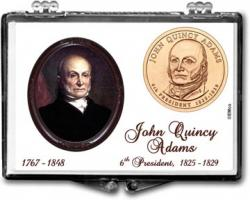 Edgar Marcus Snaplock Holder -- John Quincy Adams