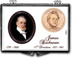 Edgar Marcus Snaplock Holder -- James Buchanan