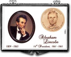 Edgar Marcus Snaplock Holder -- Abraham Lincoln