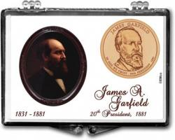 Edgar Marcus Snaplock Holder -- James A. Garfield