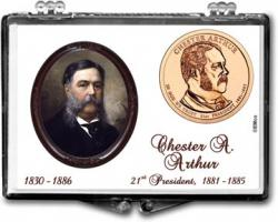Edgar Marcus Snaplock Holder -- Chester A. Arthur