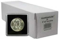 Guardhouse Tetra 2x2 Snaplocks -- Half Dollar Size -- Box of 25 -- Box of 25