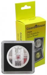 Guardhouse Tetra 2x2 Snaplocks -- Silver Round Size -- Pack of 10